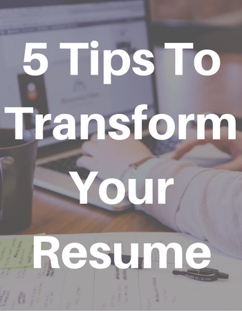 how to make my resume better